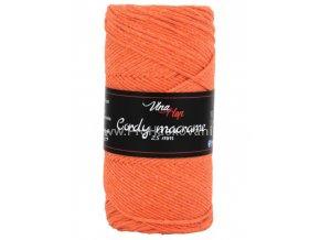 Cordy Macrame 2,5 mm 8109 oranžová