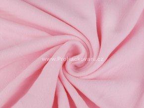latka fleece pastelove ruzova