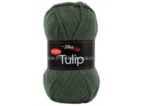 příze Tulip 4464 tmavá šedozelená