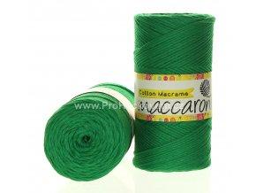 Cotton Macrame Maccaroni 22-601 zelená