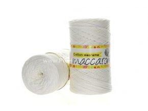 Cotton Macrame Maccaroni 03 smetanová