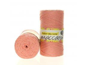 Cotton Macrame Maccaroni 44 meruňkové