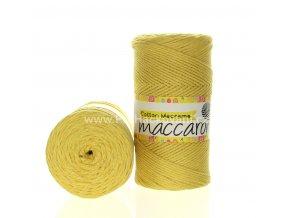 Cotton Macrame Maccaroni 45 světlejší žluté