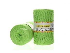 Cotton Macrame Maccaroni 20 jarní zelená