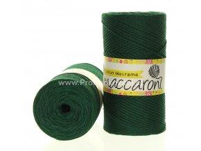 Cotton Macrame Maccaroni 60-606 jedlová zelená