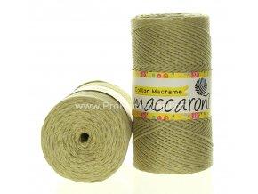 Cotton Macrame Maccaroni 56-804 světle olivové