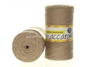 Cotton Macrame Maccaroni 29-305 perlová béžová