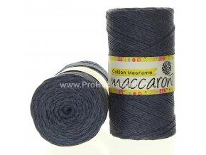 Cotton Macrame Maccaroni 34-204 jeans melange