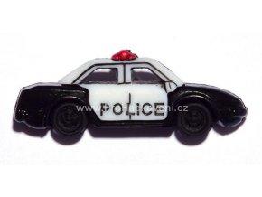 Knoflík exclusive Policejní auto