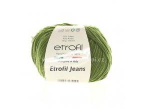 příze Etrofil Jeans 26 khaki