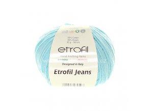 příze Etrofil Jeans 052 modrozelená