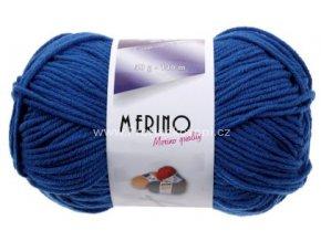 příze Merino 14723 modrá