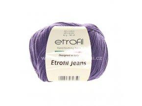 příze Etrofil Jeans 037 fialová