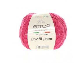 příze Etrofil Jeans 035 růžová