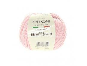 příze Etrofil Jeans 033 světle růžová