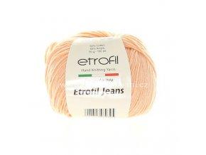 příze Etrofil Jeans 032 výrazná meruňková