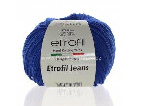 příze Etrofil Jeans 019 modrá