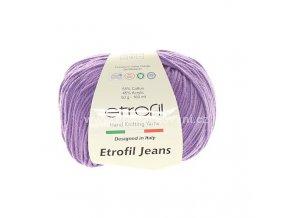 příze Etrofil Jeans 017 světle fialová