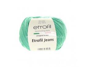 příze Etrofil Jeans 055 mint