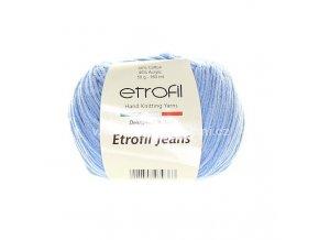 příze Etrofil Jeans 038 nebesky modrá