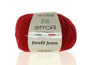 příze Etrofil Jeans 014 burgundy
