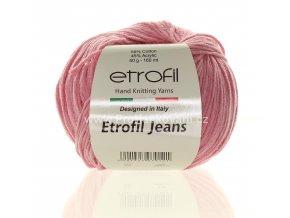 příze Etrofil Jeans 011 růžová