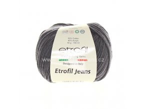 příze Etrofil Jeans 067 antracit