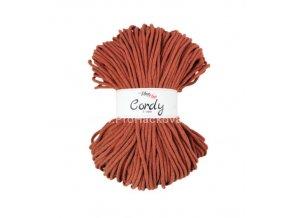 šňůry Cordy 5 mm rezavé