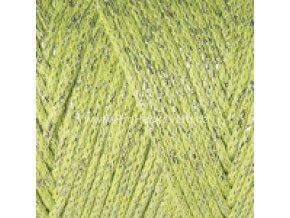 Macrame Cotton Lurex 726 světle zelená