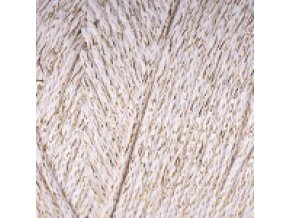 macrame cotton lurex 724