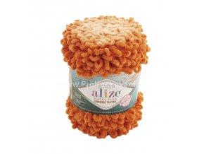 Puffy Fine Ombre Batik 7296 variace oranžové