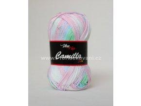 Camilla Batik 9601 růžovo-zelenkavá