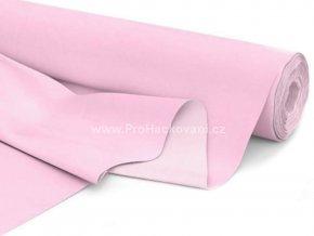 Bavlněná látka pastelově růžová