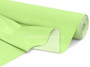 Bavlněná látka pastelově zelená