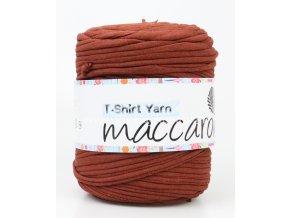 špagáty Maccaroni T-Shirt hnědé pletenina