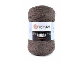Ribbon Yarn Art Hnědé