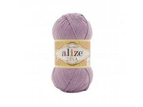 příze Diva 505 fialková lila