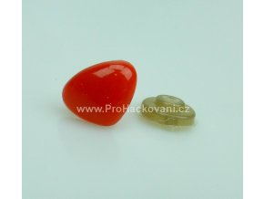 Čumáček bezpečnostní, 7 x 9 mm, červený