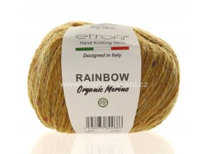 příze Rainbow Organic Merino 171 matná hořčicová