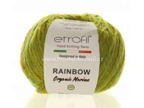 příze Rainbow Organic Merino 172 anýzová