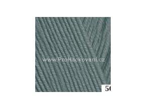 příze Perlina 50156 šedá