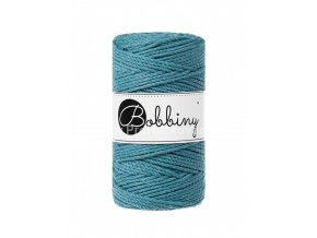 Bobbiny 3PLY Macrame Regular 3 mm moře (TEAL)
