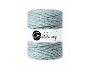 Bobbiny 3PLY Macrame Rope XXL světlé ledově modré (MISTY)