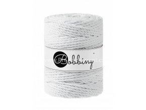 Bobbiny 3PLY Macrame Rope XXL bílé (WHITE)