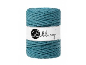 Bobbiny 3PLY Macrame Rope XXL moře (TEAL)