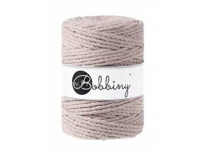 Bobbiny 3PLY Macrame Rope XXL perlové (PEARL)