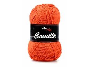 Příze Camilla 8198 tmavě oranžová