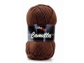 Příze Camilla 8229 čokoládově hnědá