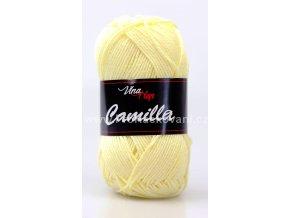 Příze Camilla 8175 jemná pastelově žlutá