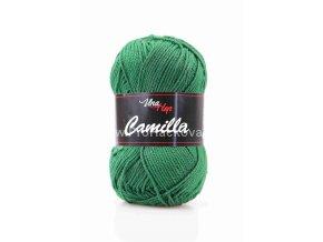 Příze Camilla 8142 vánoční zelená